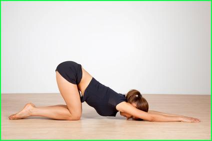 posture yoga etirement