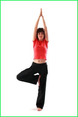 pose yoga equilibre